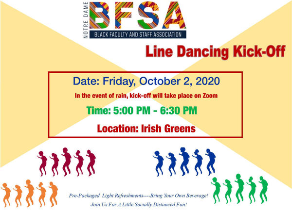 Line Dancing Kick Off Flyer